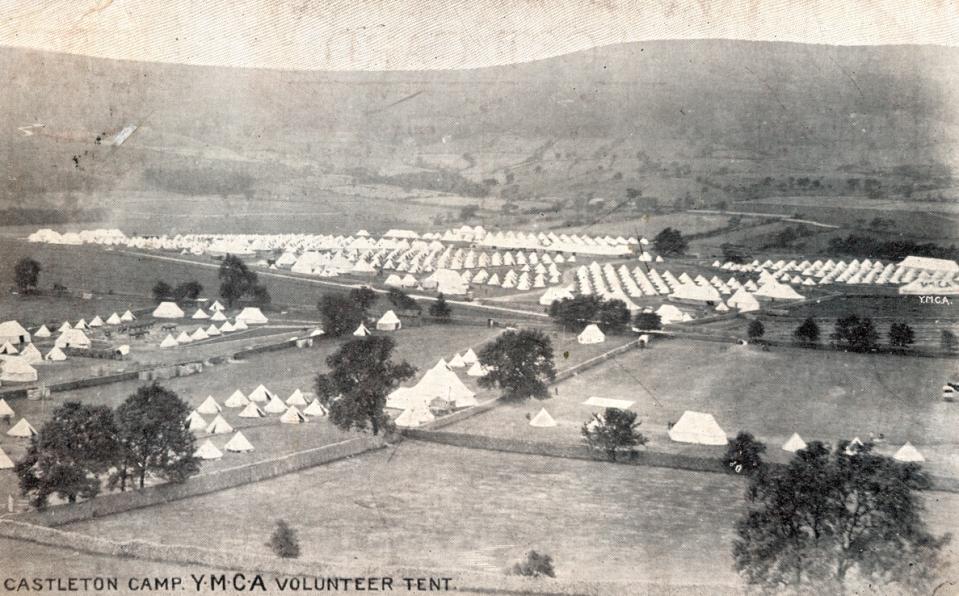1903_Castleton YMCA tent