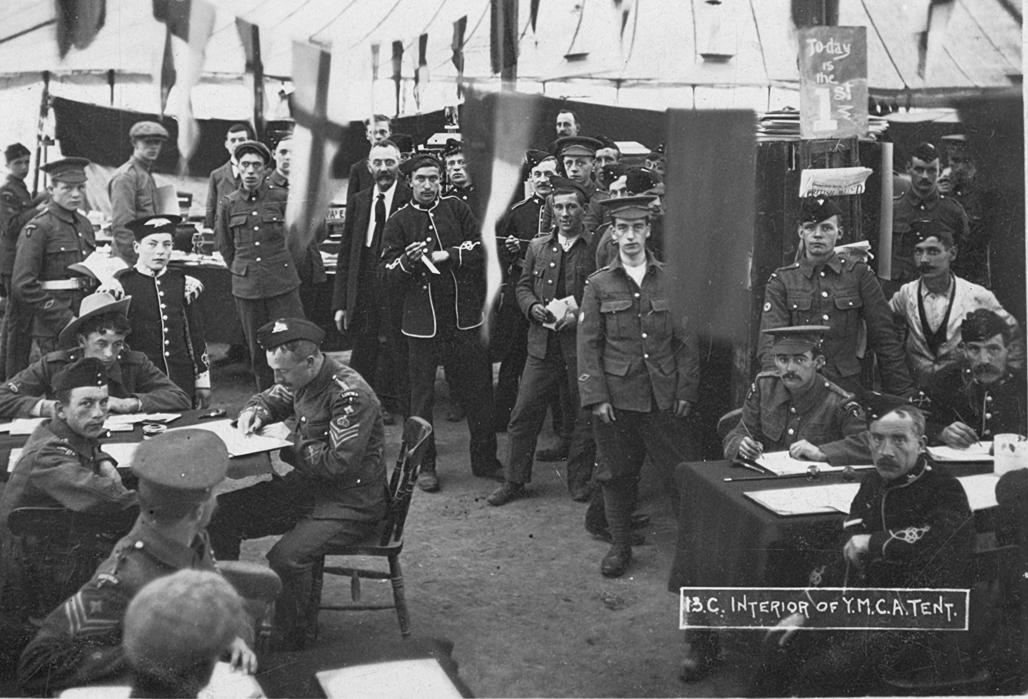 Castleton Camp In 1903 Derbyshire Territorials In The