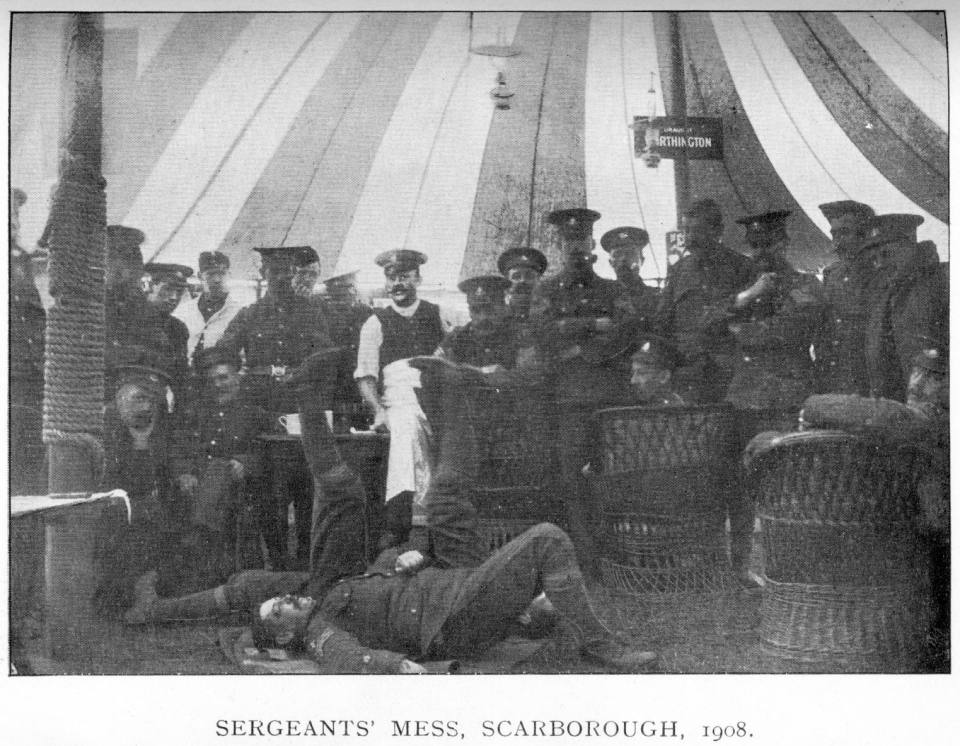 1908 Sergeants Mess