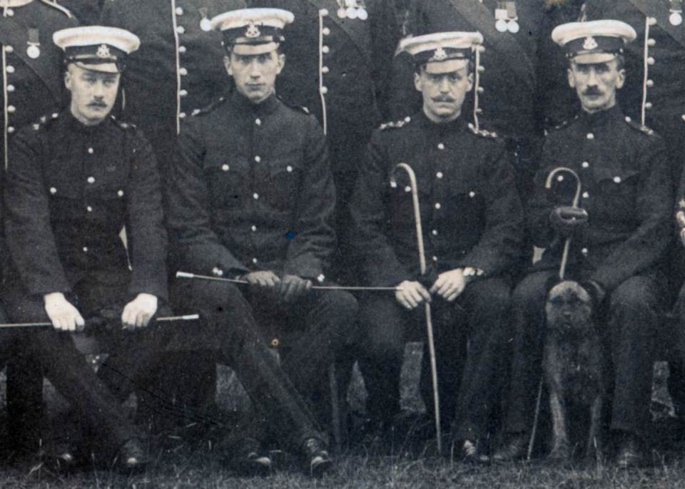 1909 A Company Officers