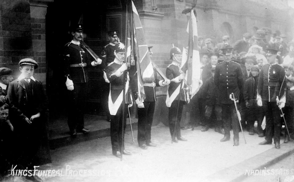 1910 Kings funeral