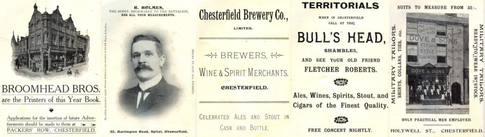 1911 Adverts
