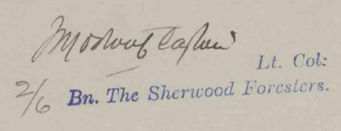 1914 Clayton signature