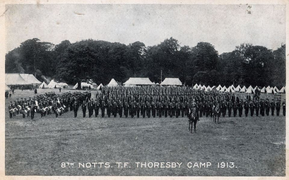 8th at Camp 1913