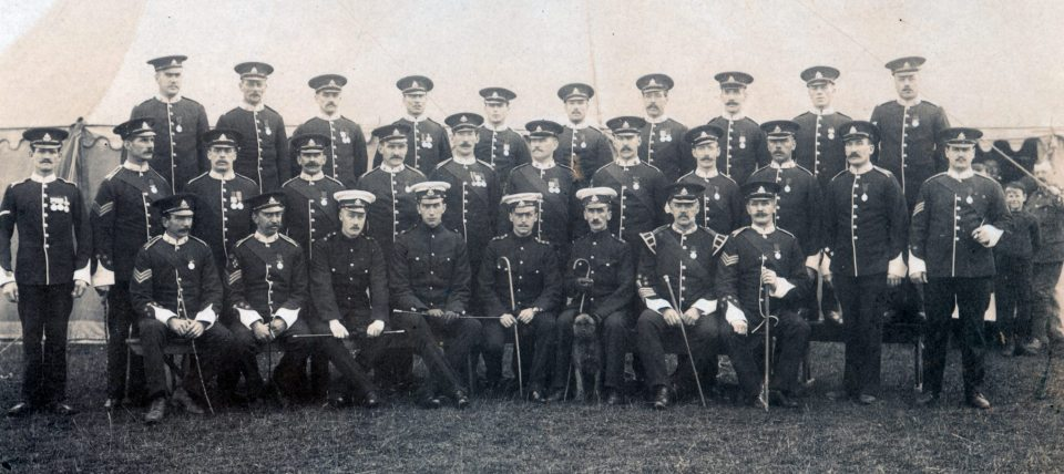 A Coy Officers