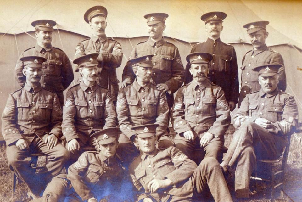 A Coy Sergeants