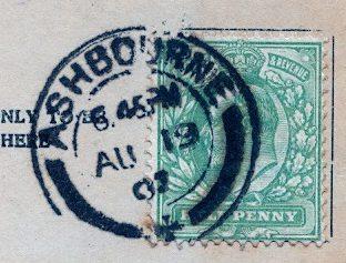 Aug 1910 postmark