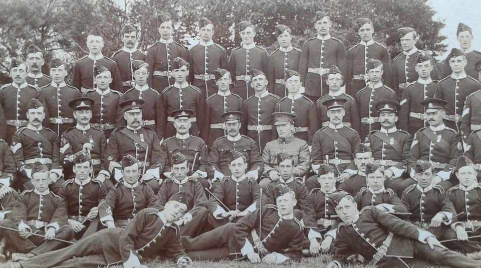 c1907 1VB Towyn Camp