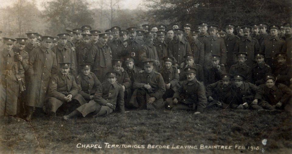 Chapel Territorials 1915