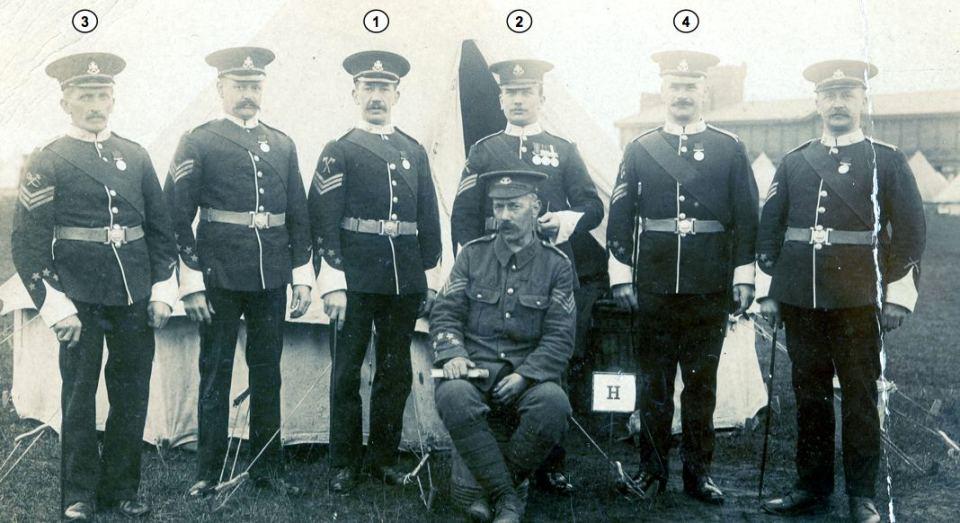 H Coy Sergeants