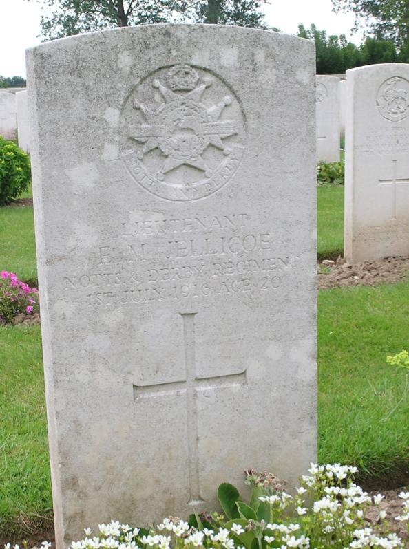 Jellicoe grave