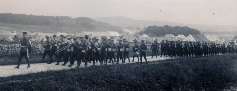 Marching 1910