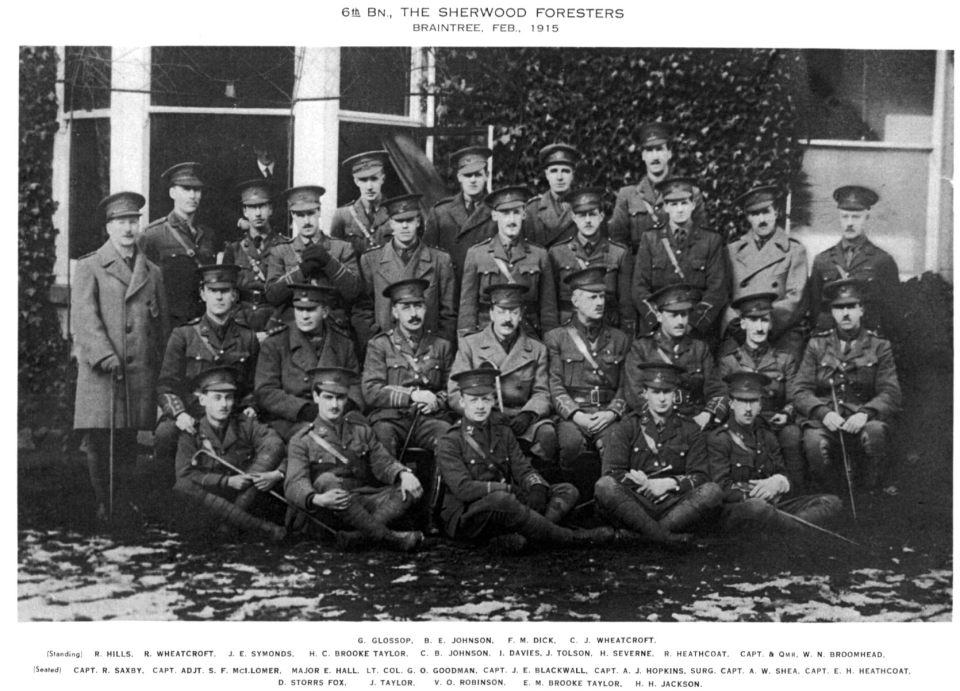 Officers 1915