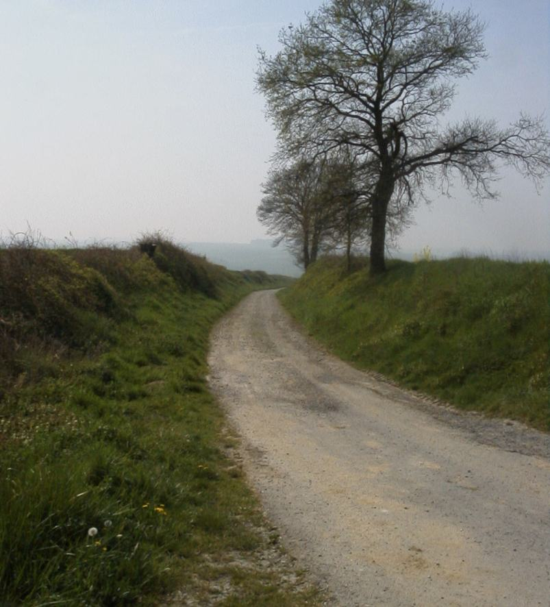 Slack sunken road