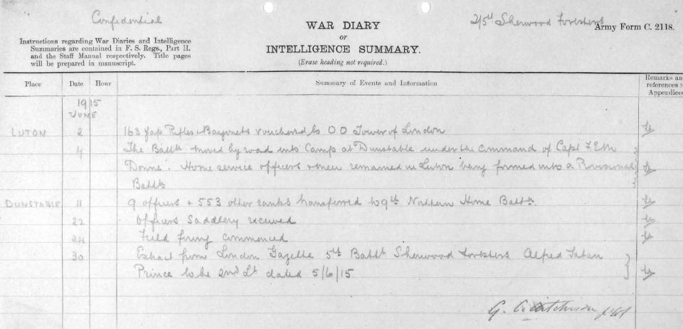 2:5th June 1915