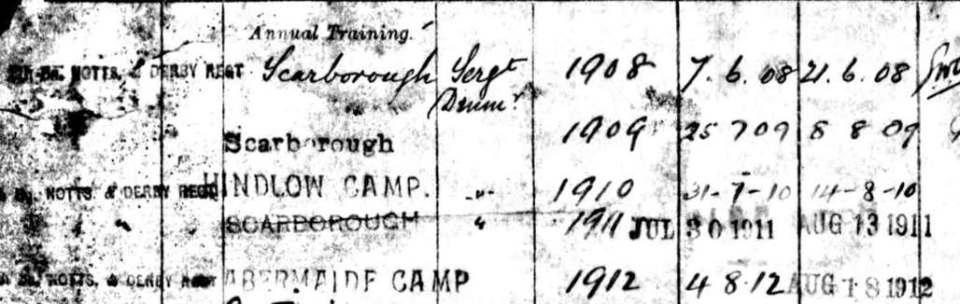 146 Bramwell Territorial Camps
