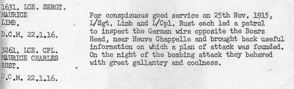 1631 Limb DCM November 1915