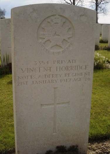 Horridge grave