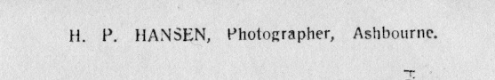 HP Hansen 1910