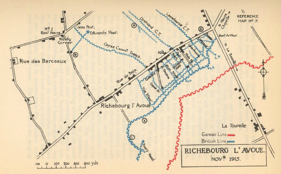 Richebourg Map