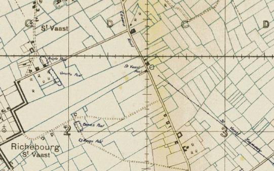 St Vaast Map