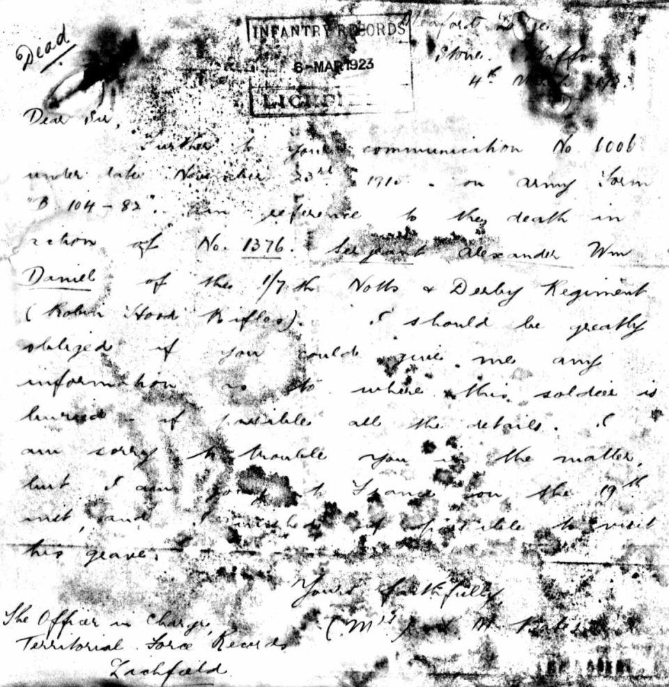 1376 Daniel letter 1