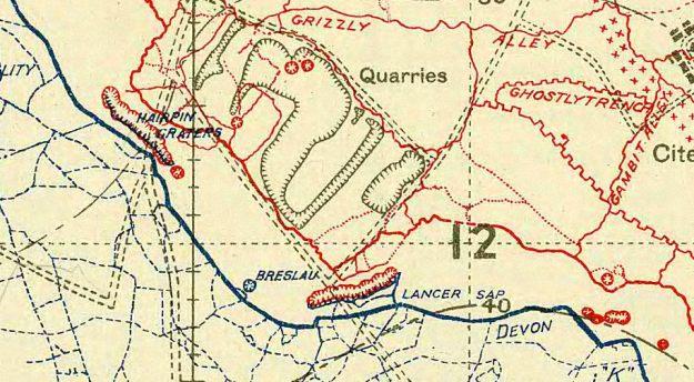 Map Jan 1918