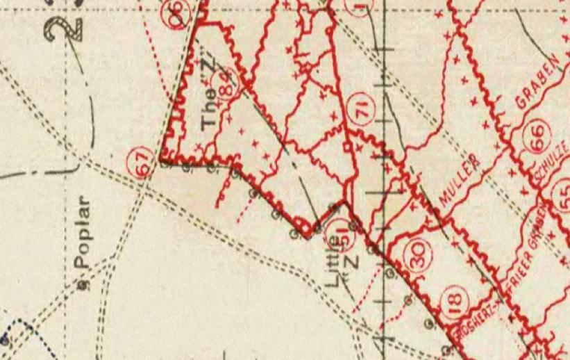 Schweiben nest map