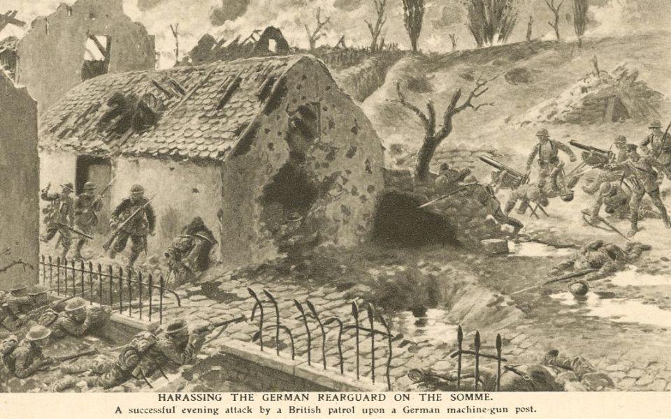 1917 Gommecourt