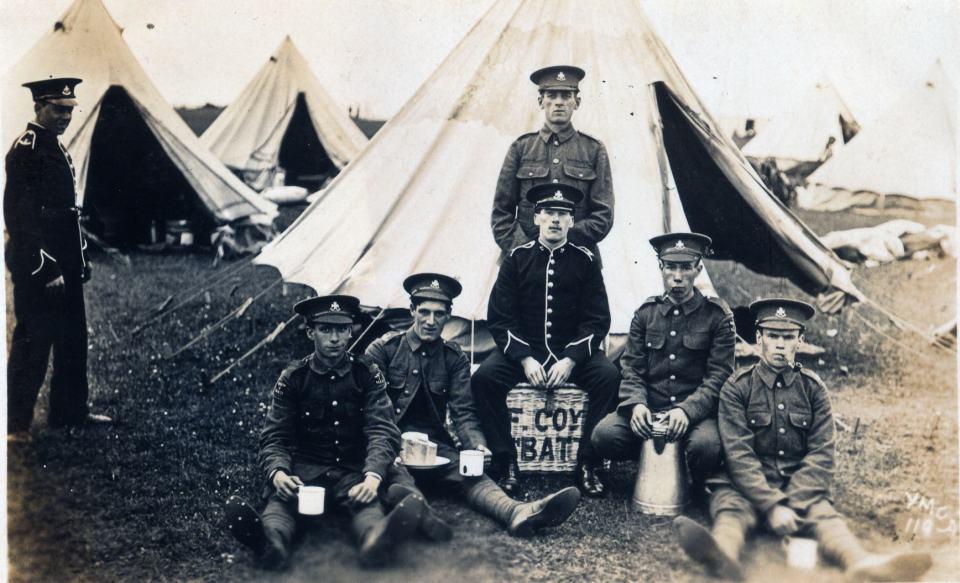 8 Battn F Coy 1909