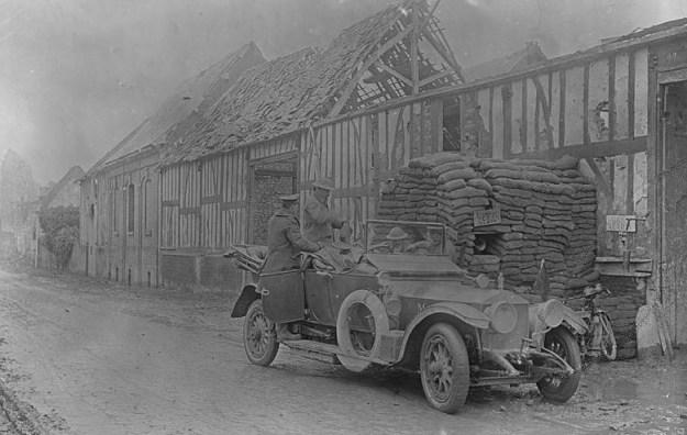 8th Foncquevillers 1917