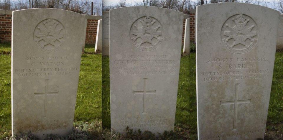 foncquevillers graves 1917 b