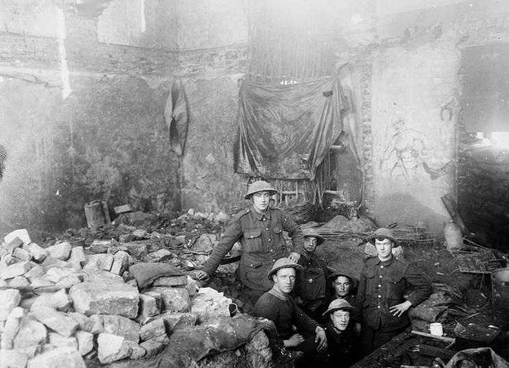 Fonquevillers April 1917