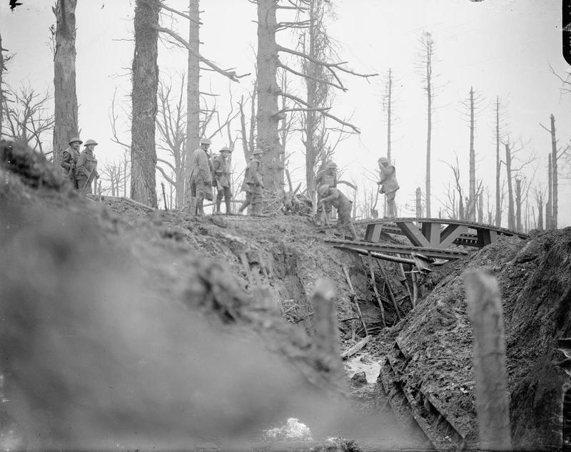 gommecourt trench
