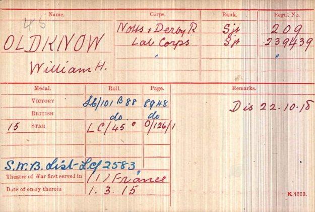 209 William H Oldknow