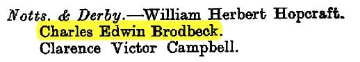Brodbeck LG 1917
