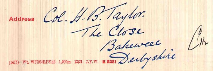 Brooke-Taylor AC address