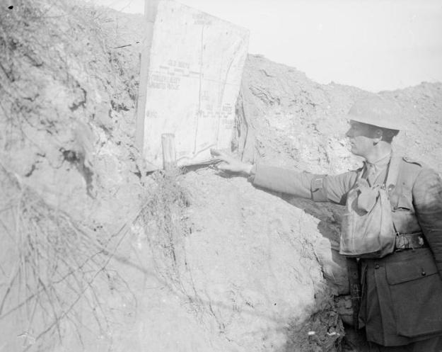 Cambrin September 1917