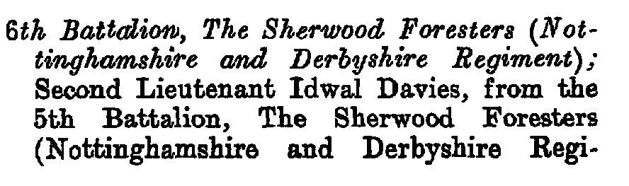 davies i LG april 1913