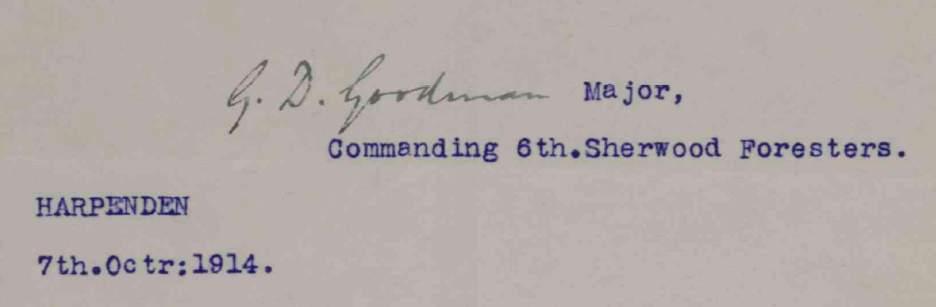 goodman signature