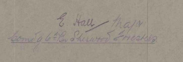 Hall Signature