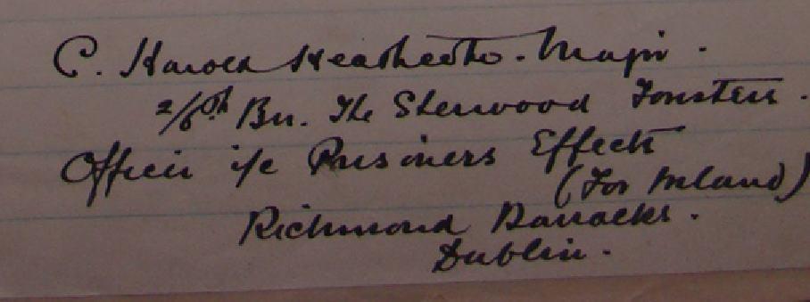 Heathcote CH signature