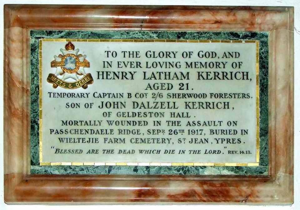 Kerrich Memorial