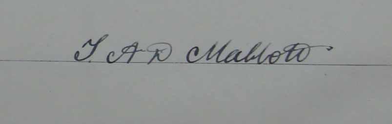 mabbott signature