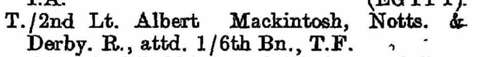 Mackintosh LG 1919