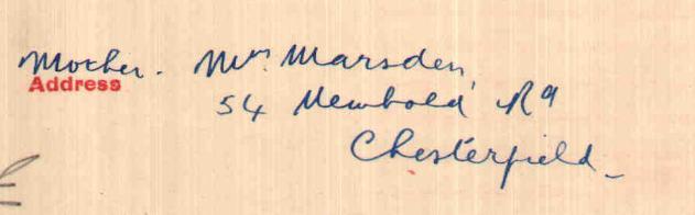 marsden address
