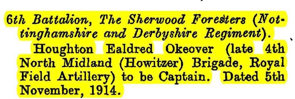 oakover 1914
