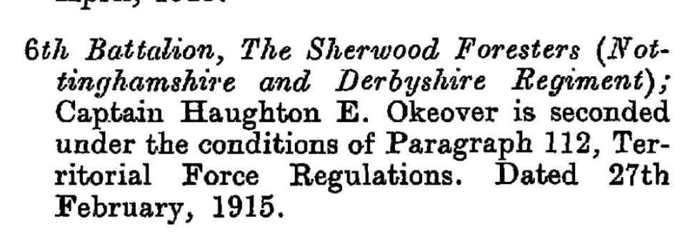 oakover 1915