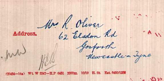 oliver address