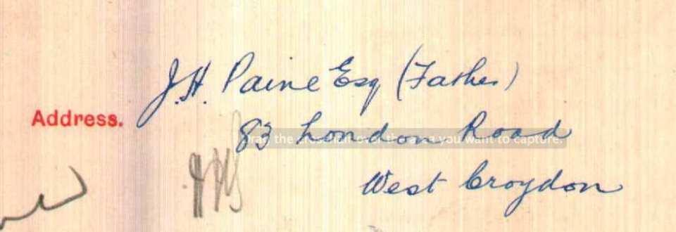paine address